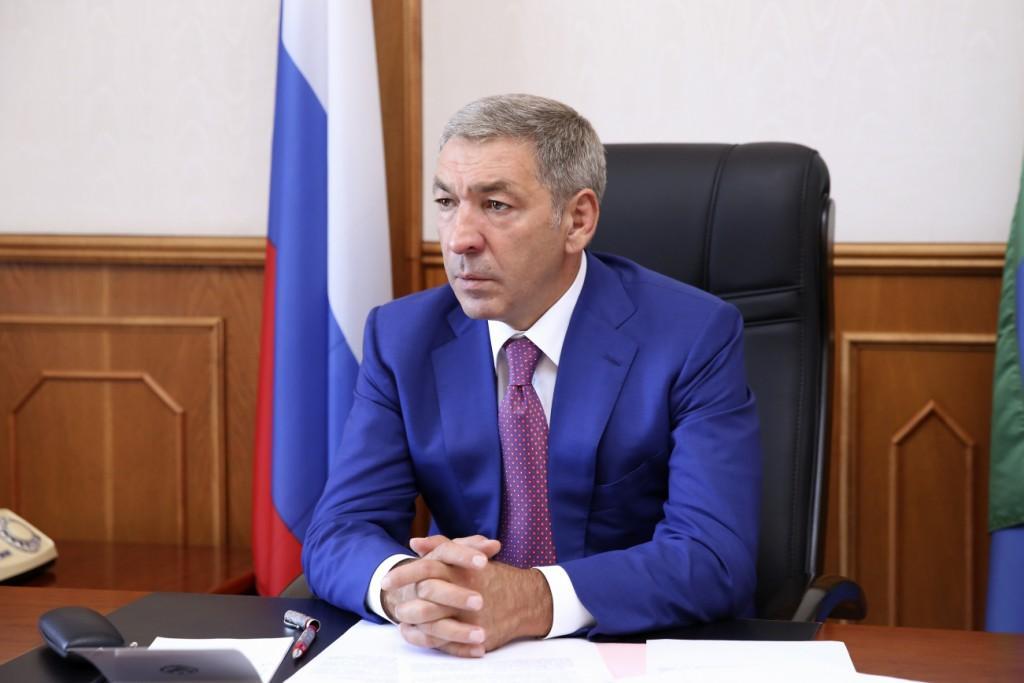 Сергей Меликов и Абдусамад Гамидов провели совместный прием обращений жителей Дагестана в режиме видеоконференцсвязи