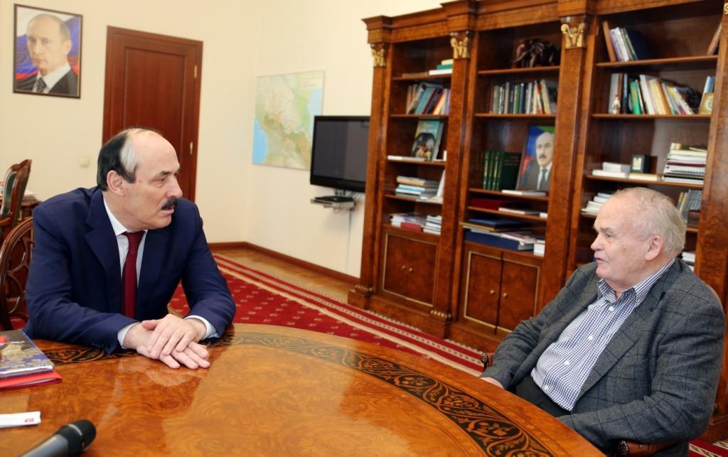 Рамазан Абдулатипов и Евгений Велихов обсудили вопросы развития российской науки