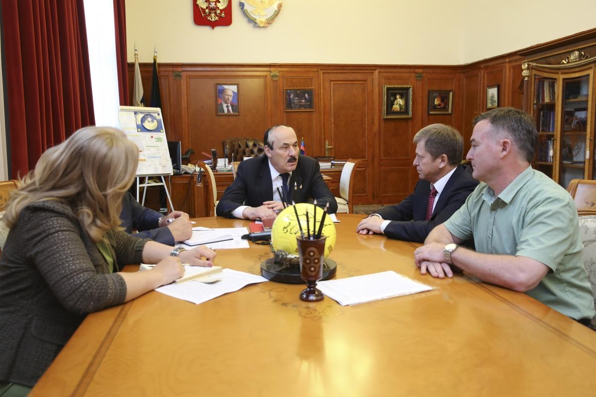 Глава Дагестана: «У нового вуза должно быть свое лицо»