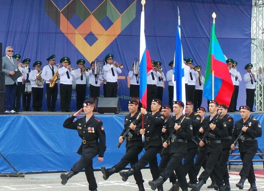 Около 130 человек участвуют в международном военно-морском конкурсе