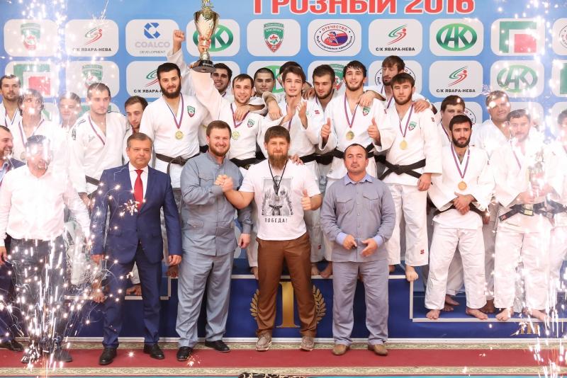 В Грозном завершился чемпионат России по дзюдо среди клубов.