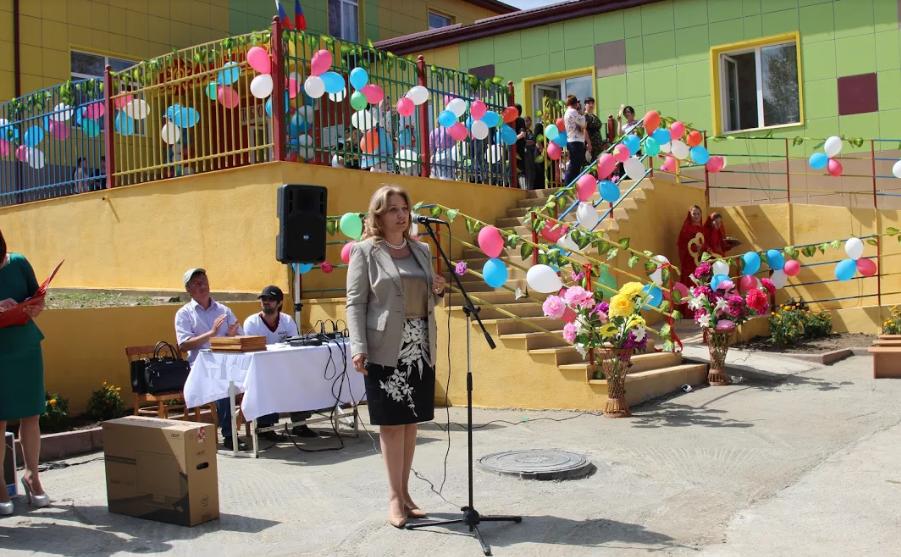 Новый детский сад открыли в Лакском районе