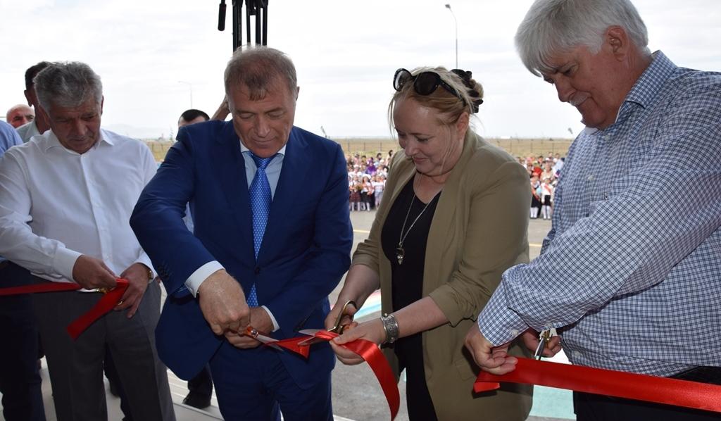 В Новолакском районе открылась новая школа