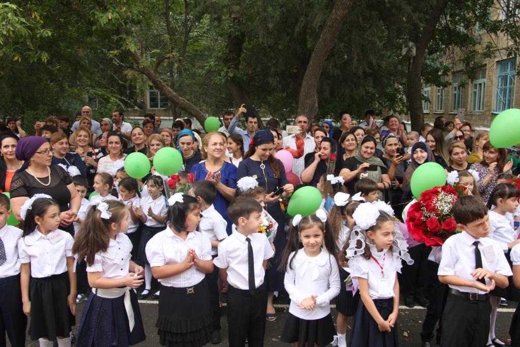 Открытии нового корпуса гимназии №37 состоялось в Махачкале