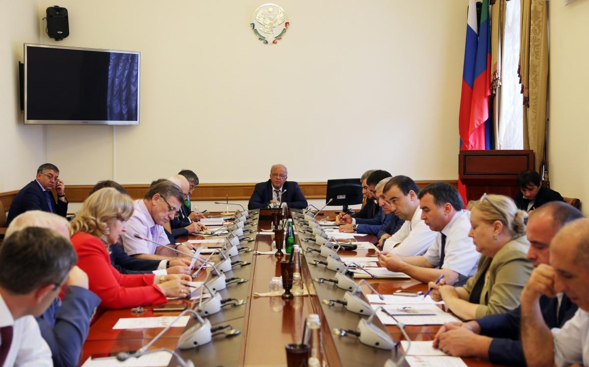Ряд актуальных вопросов обсужден в Правительстве Дагестана