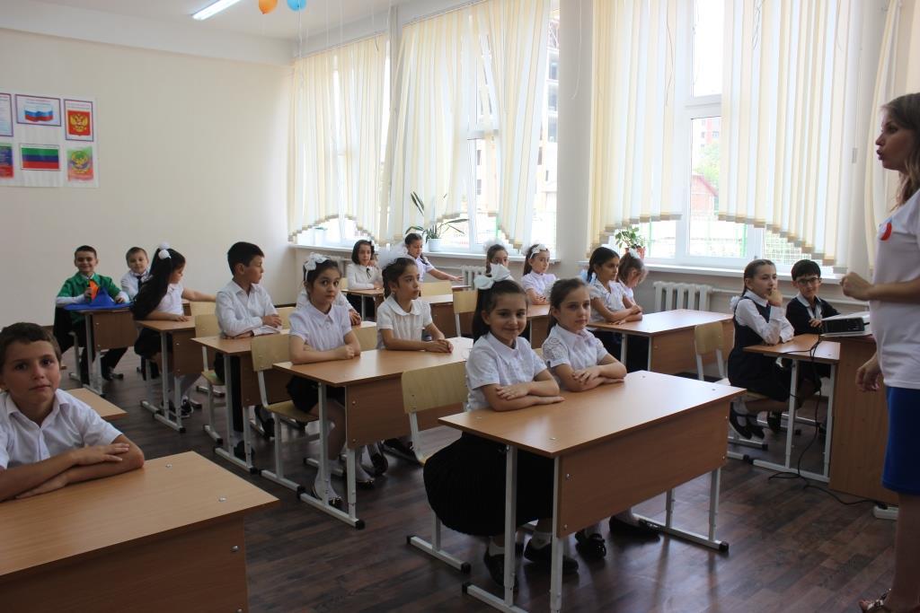 Российское движение  школьников стартовало в Махачкале