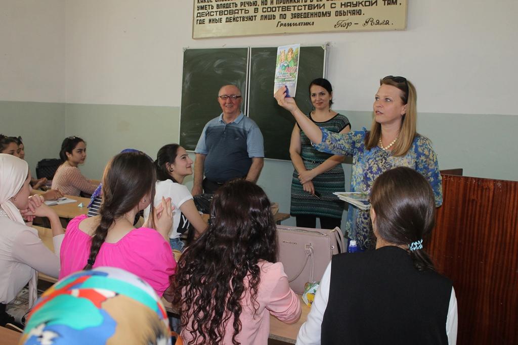 Акция «За чистоту русского языка» прошла в Махачкале