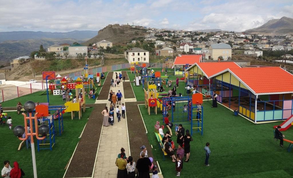 Новый детский сад открыт вселении Уркарах Дахадаевского района