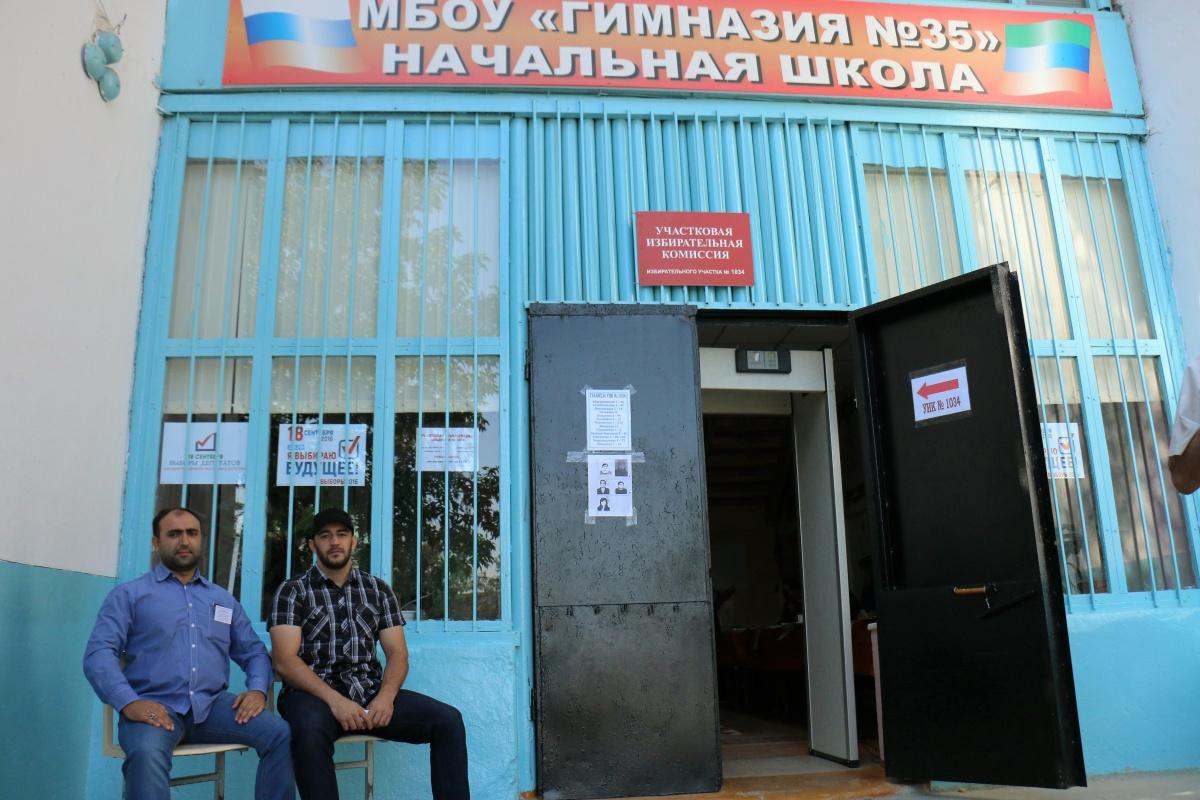 51 избирательный участок работает для жителей Кировского района Махачкалы
