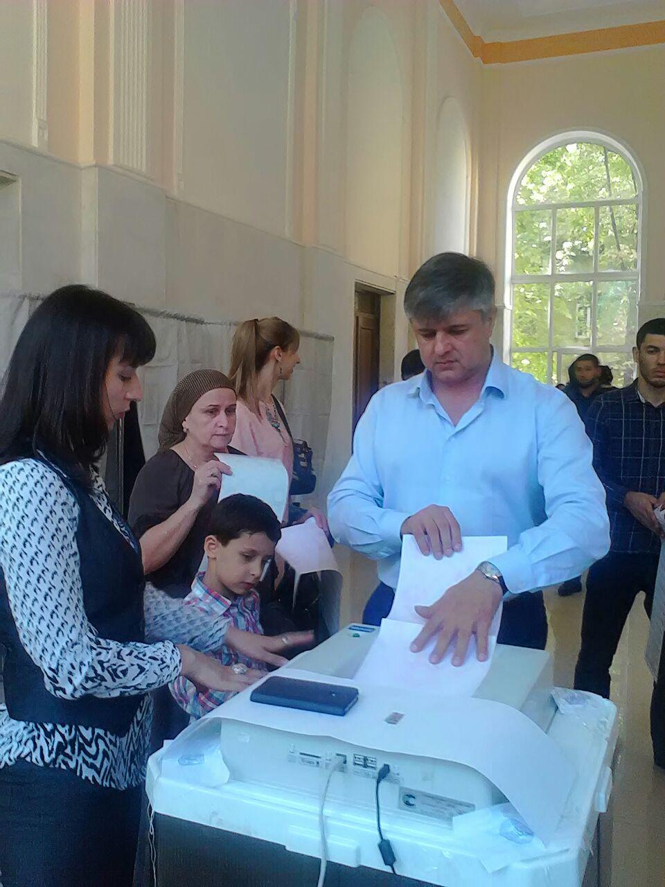 Дорожники Дагестана приняли активное участие в выборах