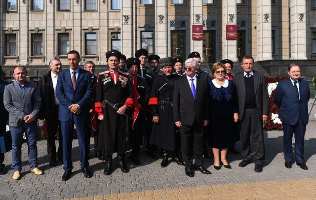 Махачкалинская делегация посетила празднование 223-летия Краснодара
