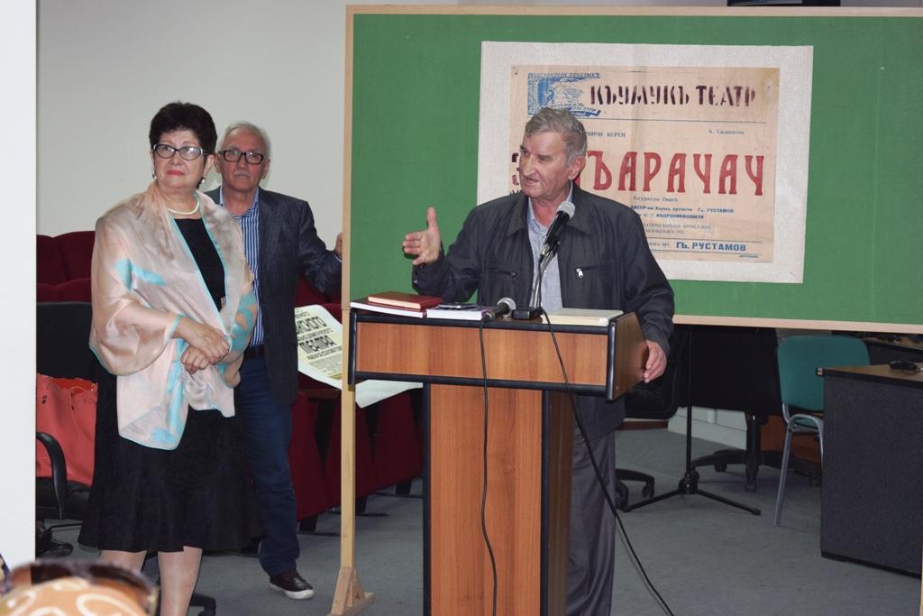 115-тый день рождения основоположника кумыкской драматургии Алимпаши Салаватова