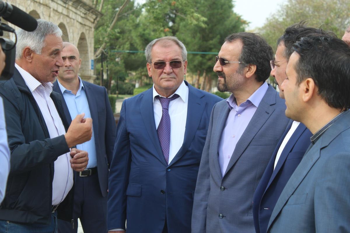 Посол Ирана в России Мехди Санаи посетил с рабочим визитом Дербент