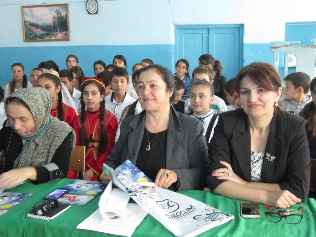 Открытый урок в школе Чинара