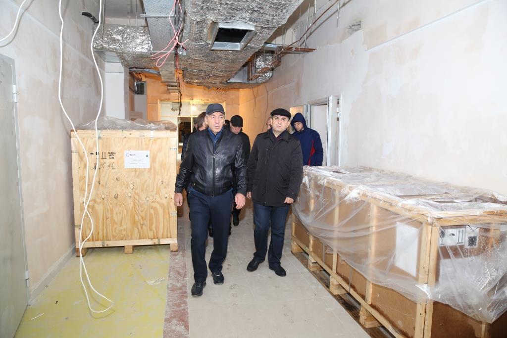 Абдусамад Гамидов: «90 % строительных работ в Перинатальном центре завершены»