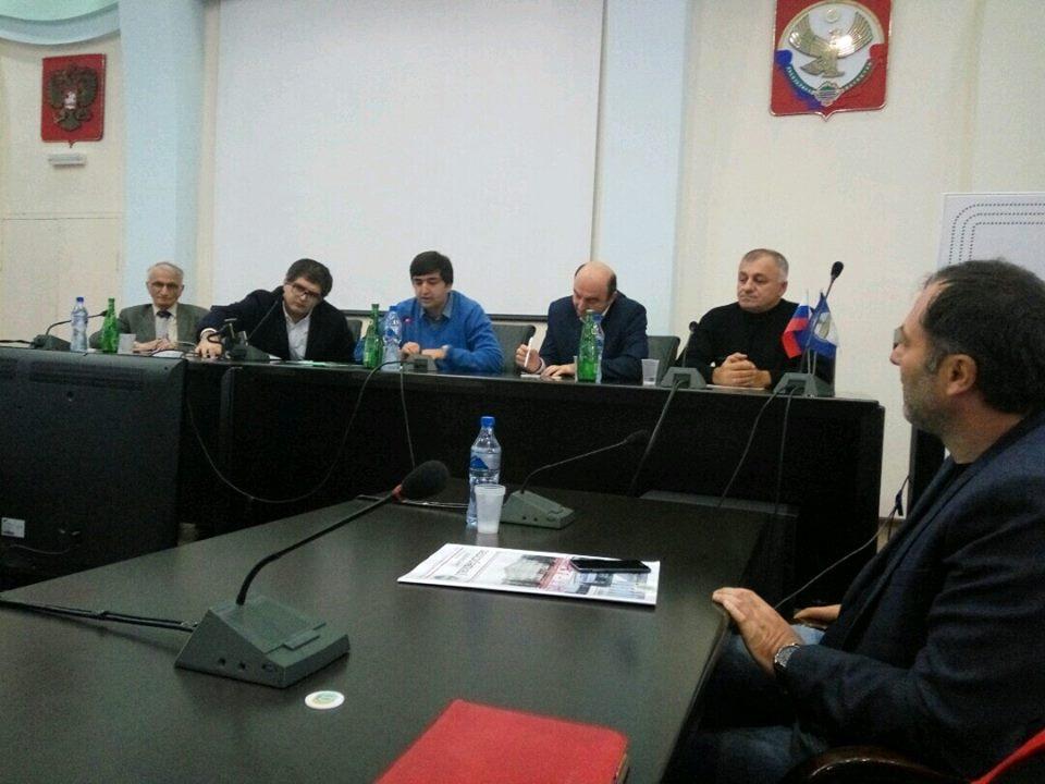 Игры журналистов и дагестанская молодежь