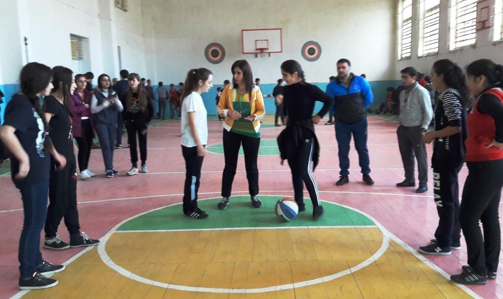 В период осенних каникул дагогнинские школьники активно занимаются спортом