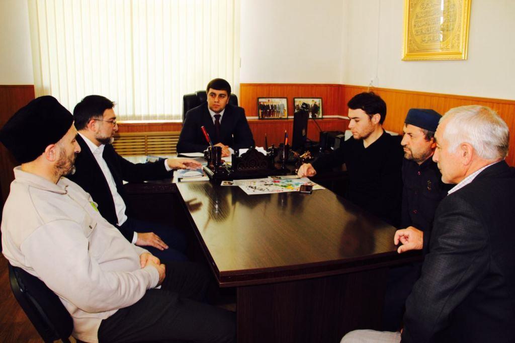 В Гергебильском районе состоялось заседание Совета по взаимодействию с религиозными организациями