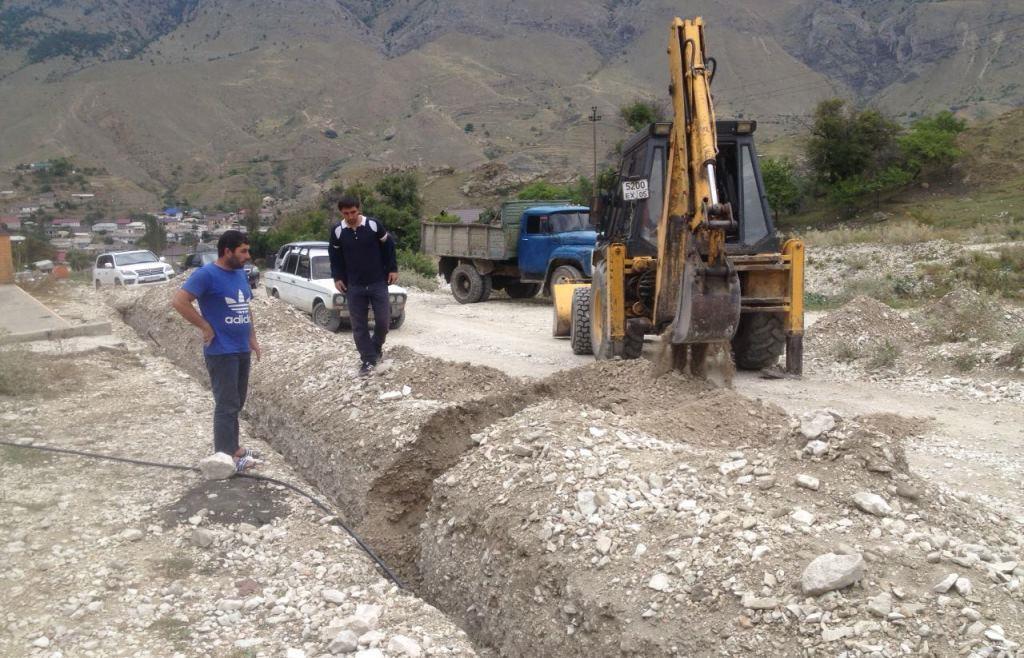 В селе Маали Гергебильского района завершены работы по обсепечению населения качественной питьевой водой