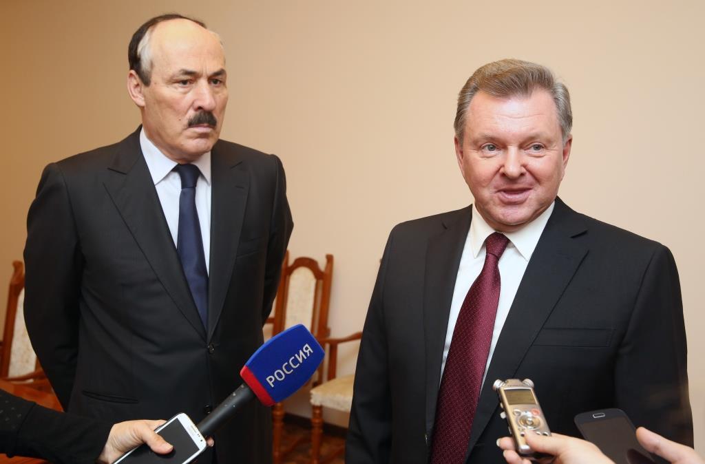 Олег  Белавенцев ознакомился с приоритетными проектами развития Республики Дагестан