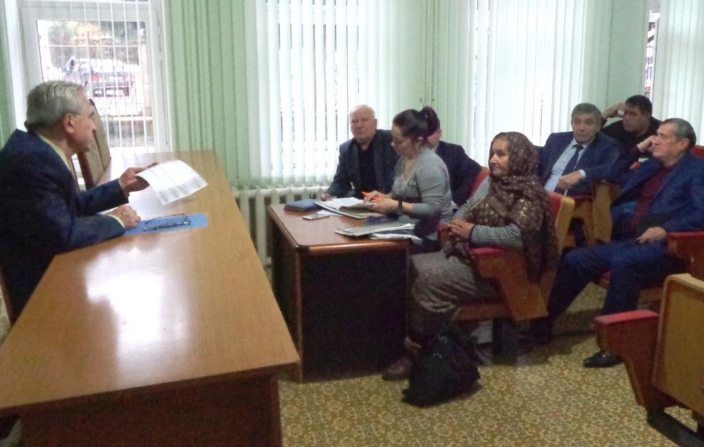 Дагогнинцы обратились к главе города с наболевшими вопросами
