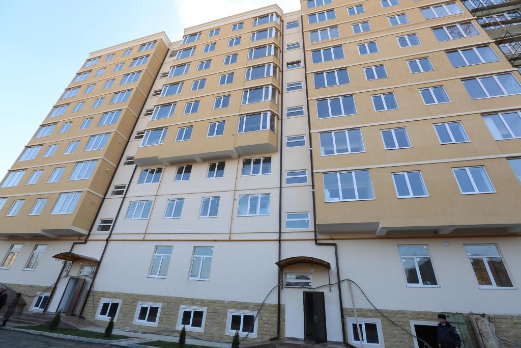 Глава Дагестана проинспектировал ход переселения граждан из аварийного жилищного фонда