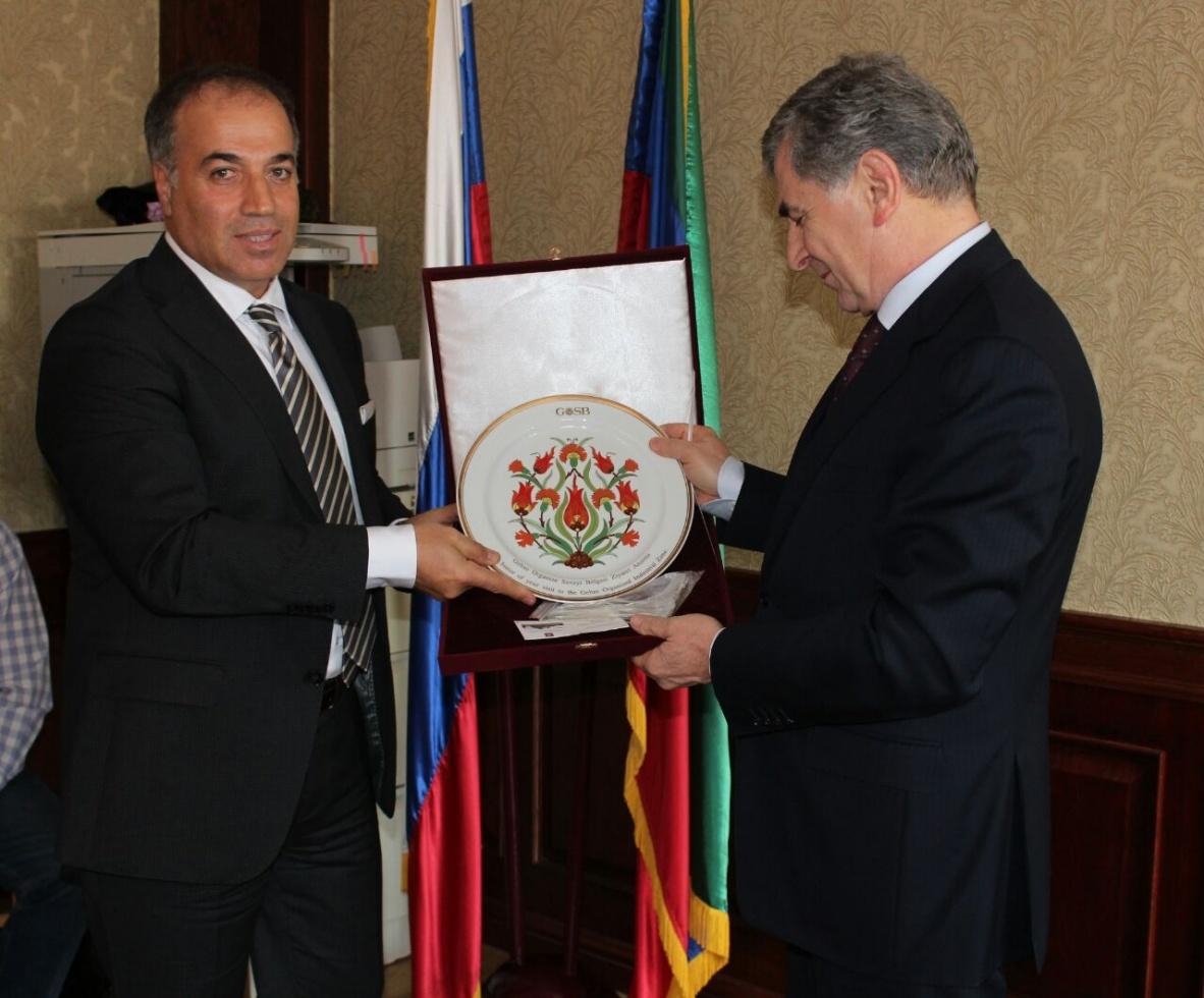 В Минпромторге Дагестана прошла встреча с представителями промышленных зон Турции