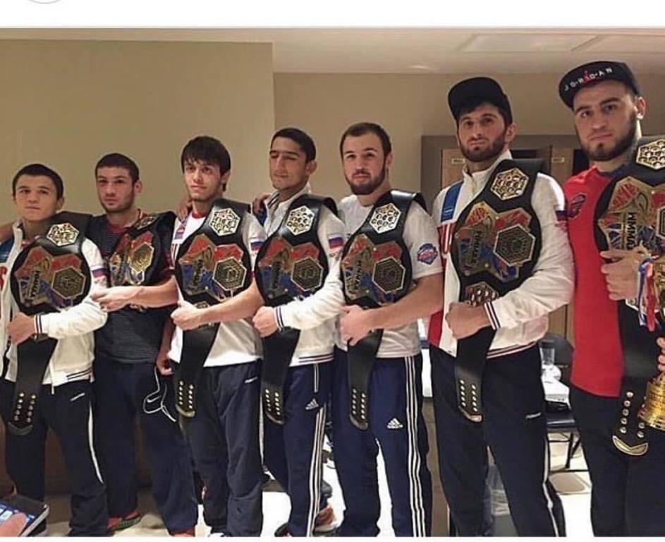 Дагестанские бойцы завоевали все золотые медали официального чемпионата мира по ММА