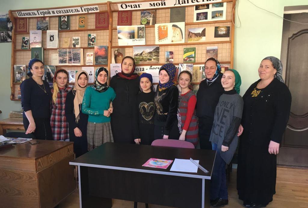 День матери отметили в Гергебильском районе