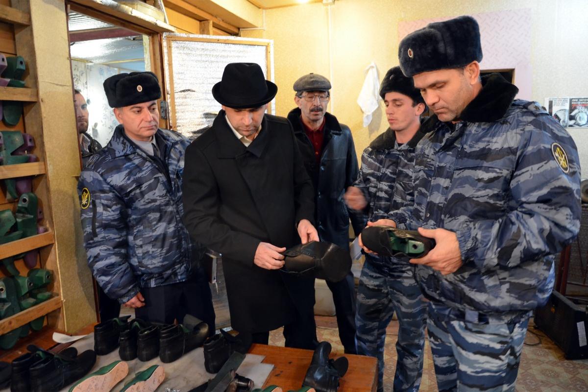 Уполномоченный по защите прав предпринимателей в Республике Дагестан посетил исправительную колонию № 7.