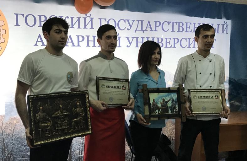 Фестиваль кавказских блюд