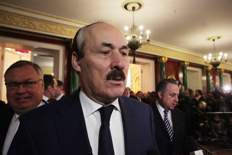 Рамазан Абдулатипов принял участие в церемонии оглашения Послания Президента России