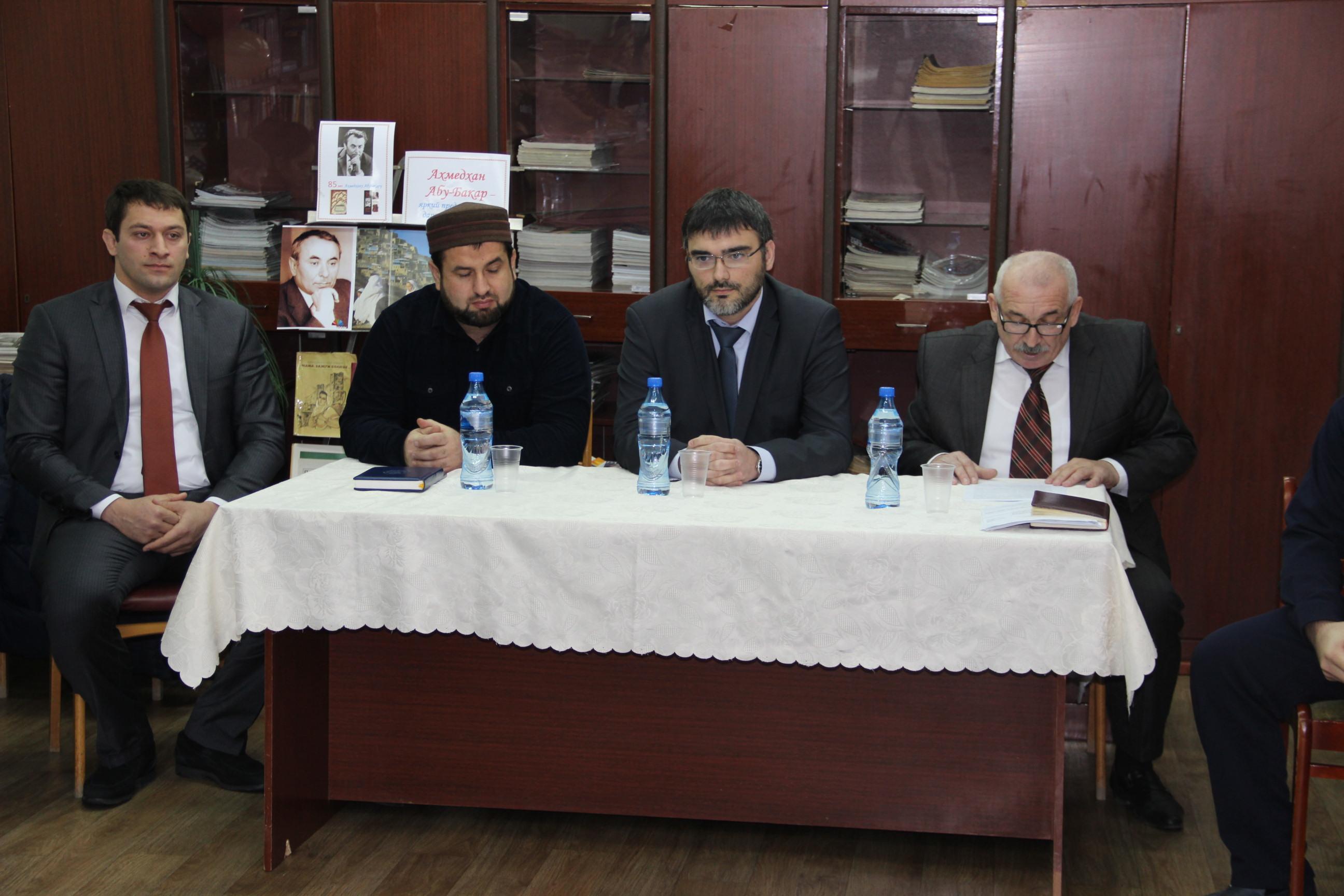 В Избербаше были обсуждены вопросы конфессиональных отношений