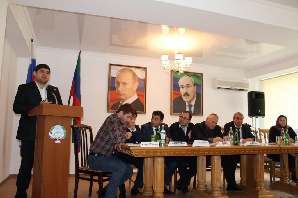 В Унцукульском районе состоялся форум интернет- пользователей сельских поселений муниципалитета