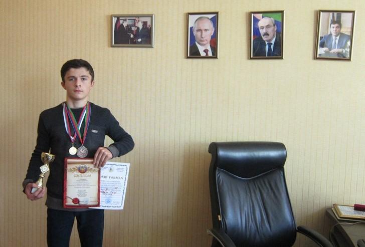 Ученик чинарской школы завоевал бронзовую медаль