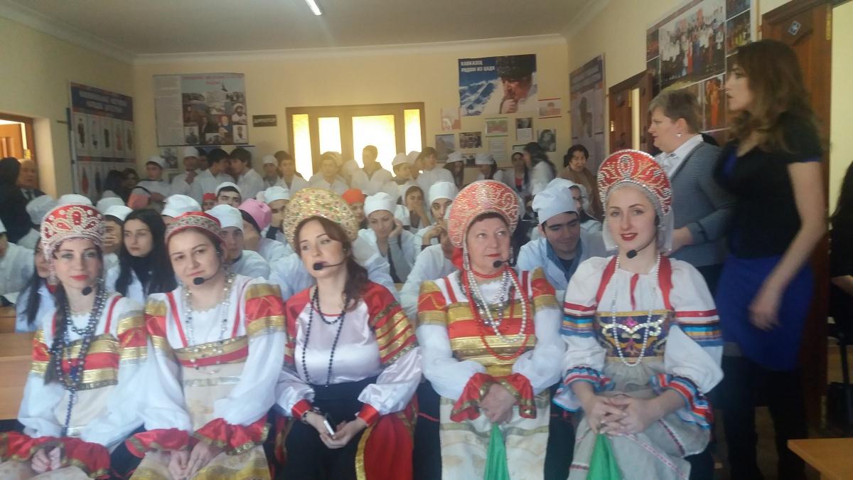 В Медколледже г.Каспийска открыли Центр традиционной культуры народов России