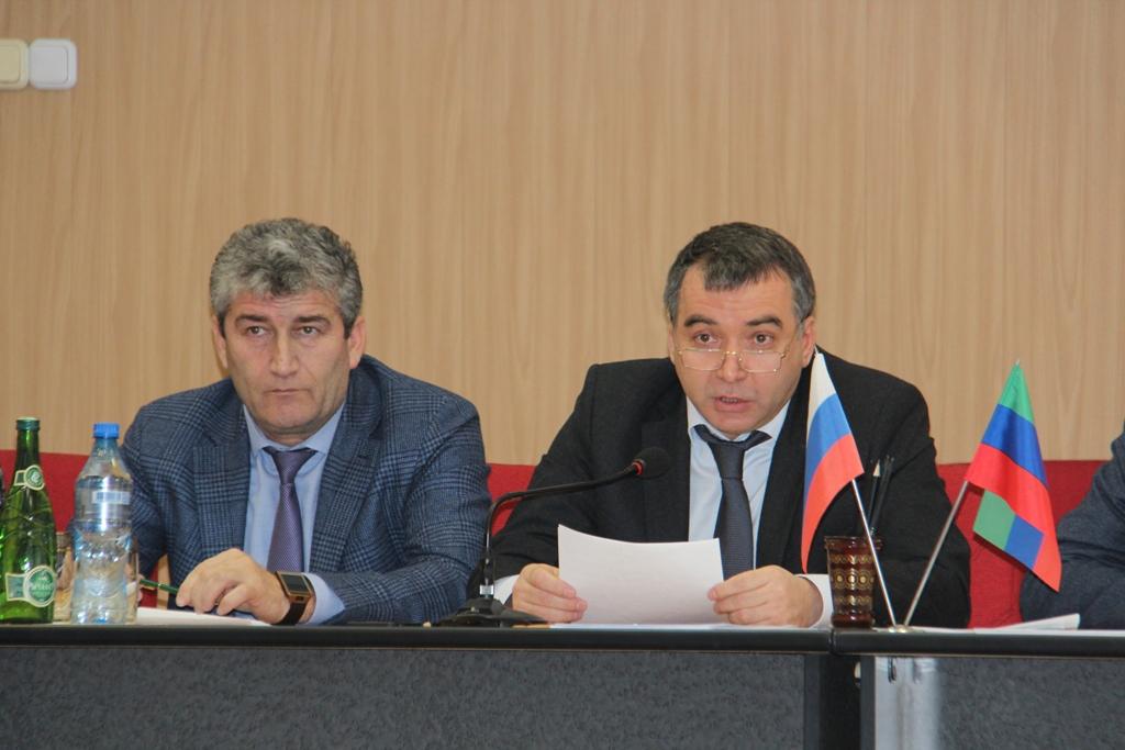 Послание Президента России  обсудили в Минтруда Дагестана