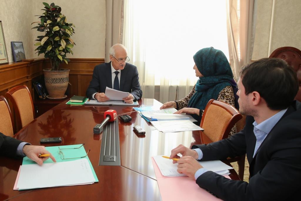 Рамазан Джафаров принял участие в общероссийском Дне приема граждан