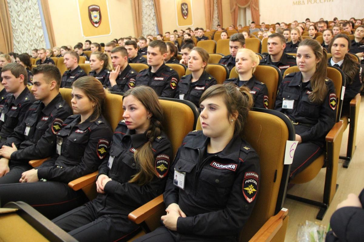 Урок мужества в Санкт-Петербургском