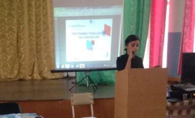 Бизнес-коучер Марьяна Маммаева проводит семинары в районах Дагестана