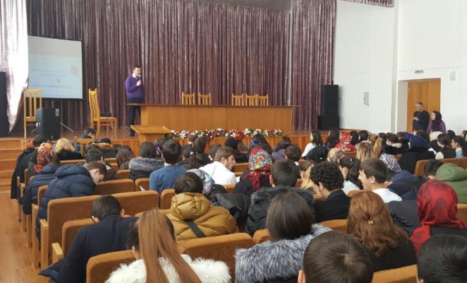 Семинар по бизнесу в Буйнакском районе собрал полный зал слушателей