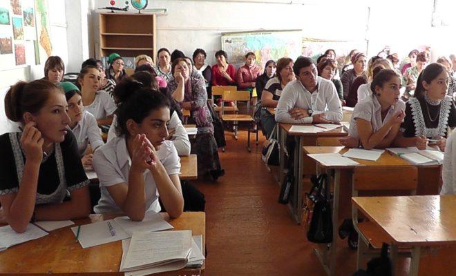 Ученики Кизлярского района презентуют свои бизнес-проекты