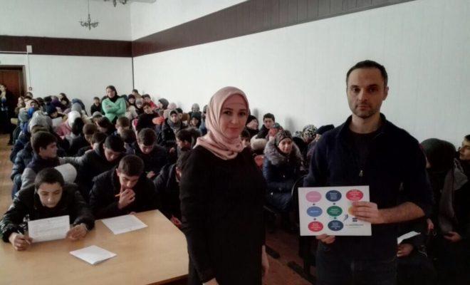 Около ста старшеклассников Кизилюртовского района стали участниками бизнес форума
