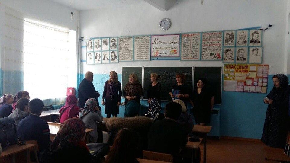 Учащиеся школ Шамильского района встретились с преподавателями  ДГТУ
