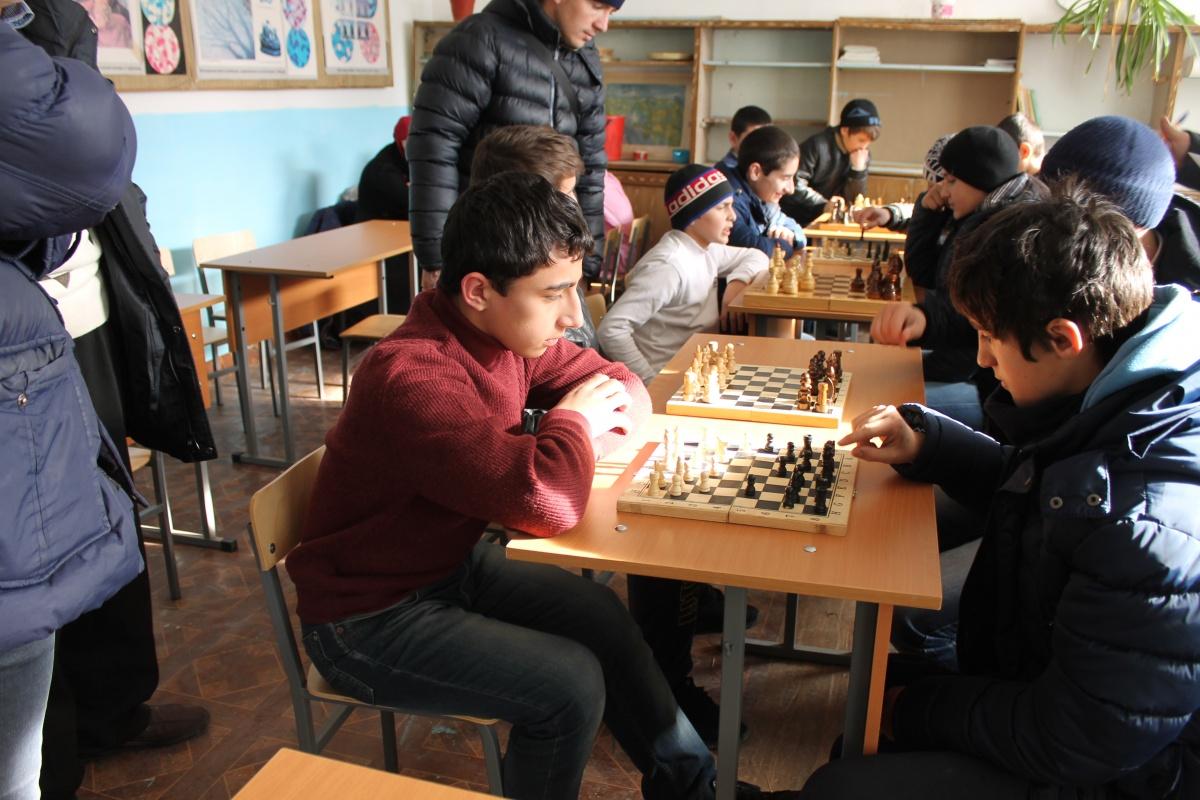 В Гергебильском районе прошло первенство района по шахматам среди школьников
