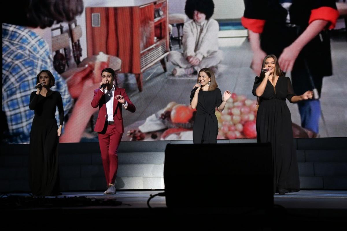 Концерт с кавказским колоритом
