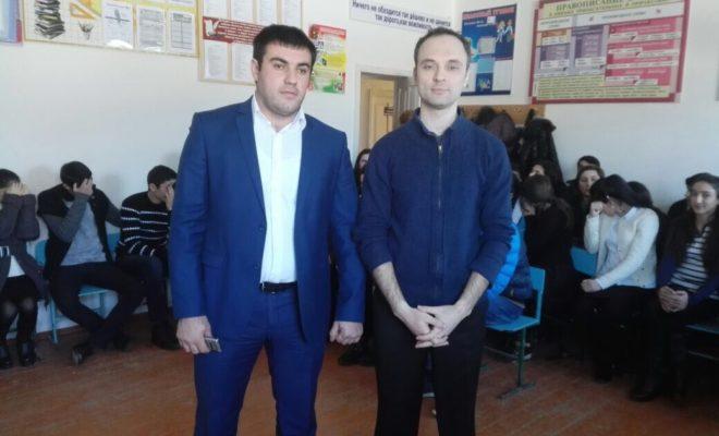 Школьникам Магарамкентского района рассказали о том, как важно иметь знания о бизнесе