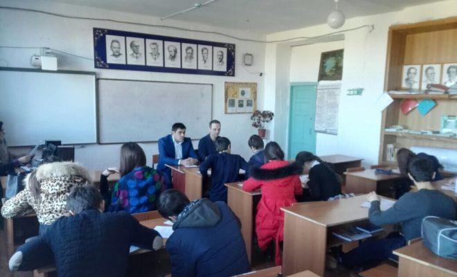 Старшеклассники Магарамкентского района встретились с региональным экспертом программы «Ты – предприниматель»