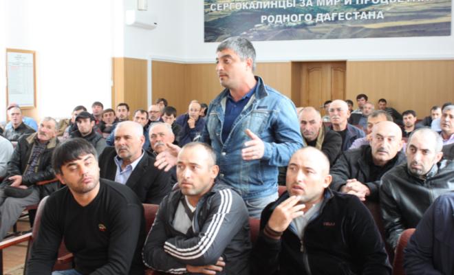 В Сергокалинском районе прошел форум-выставка «Молодой бизнесмен – опора страны»
