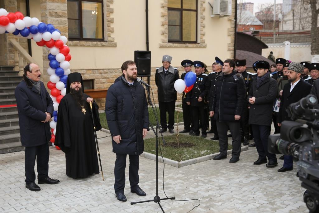 Духовно-просветительский центр «Кавказ Дом Мира» открыли в Дагестане